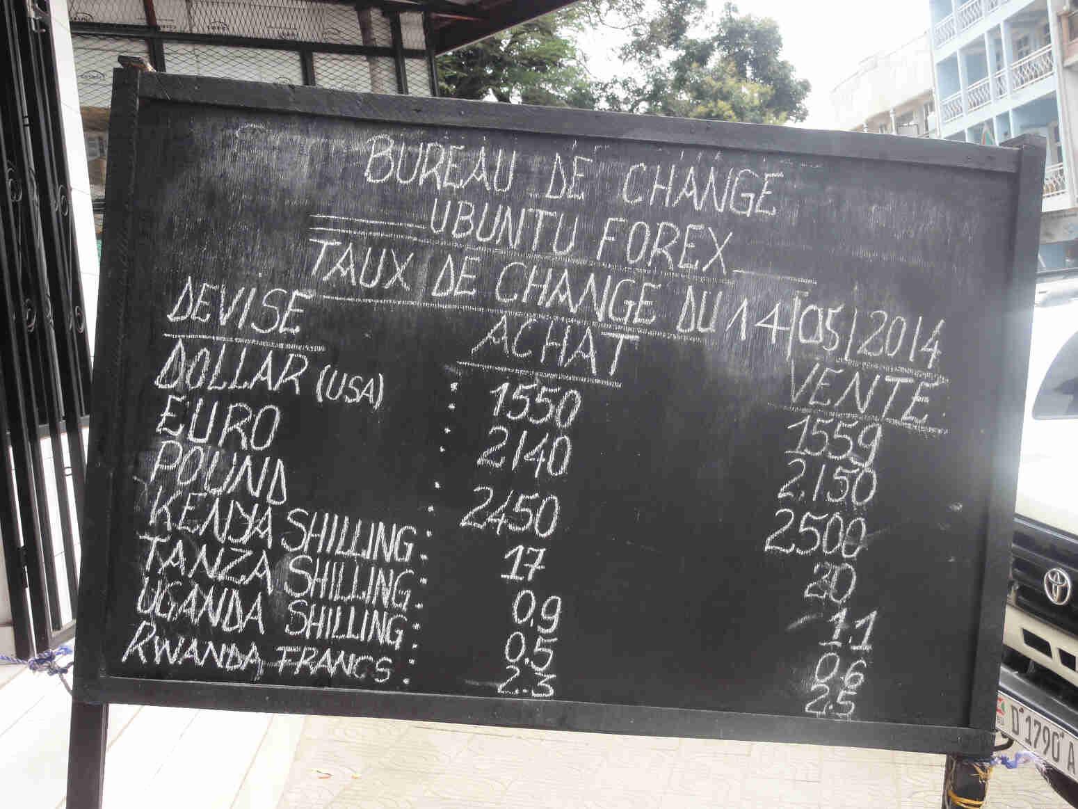 Dog food and croissants a glimpse of life in bujumbura eca international - Bureau de change marbeuf ...