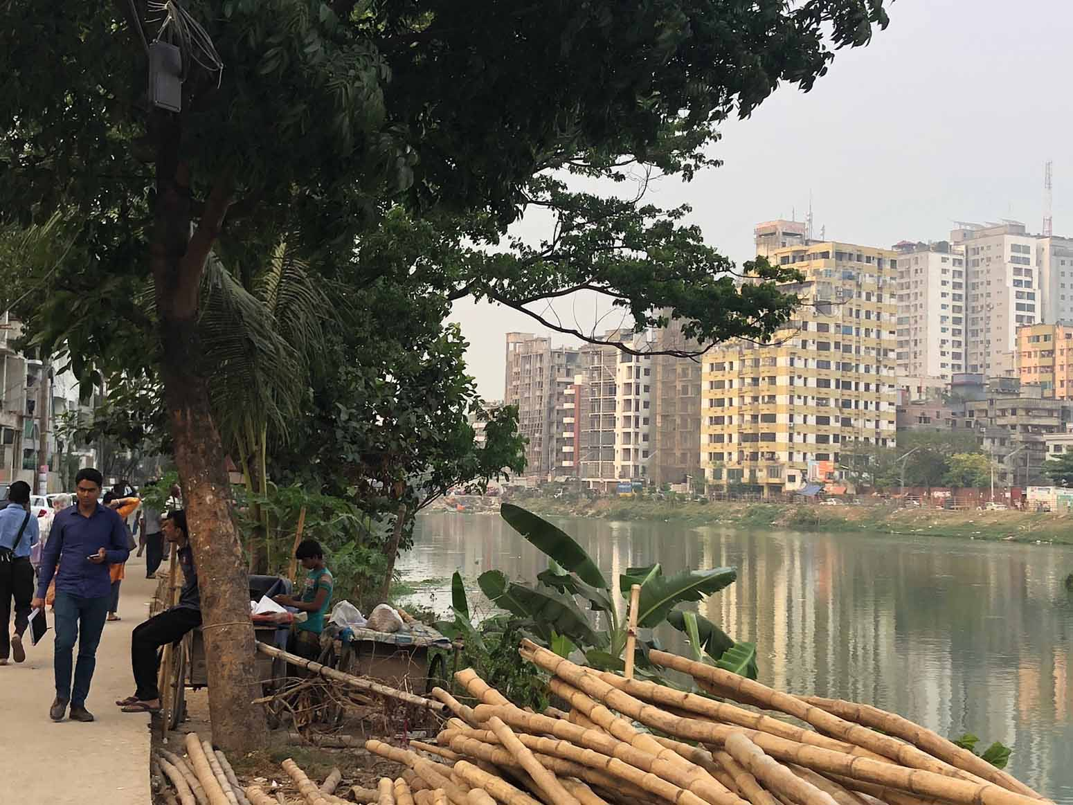 Collecting data in Dhaka - The most crowded city on earth - ECA