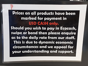 USD only