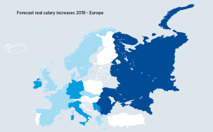 Europe Salary Trends 2018